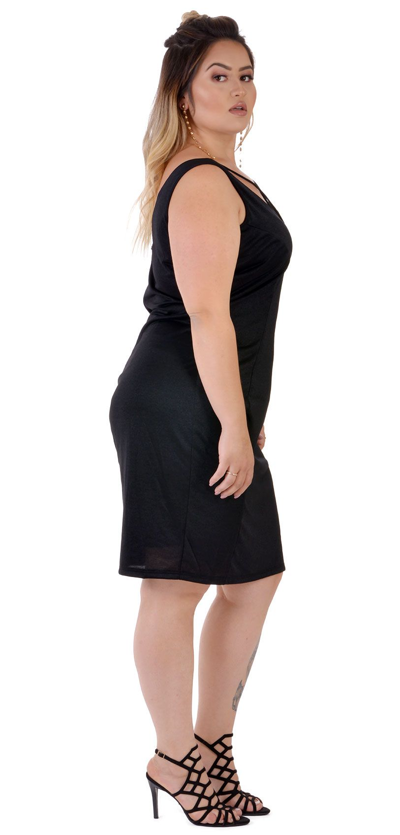 Vestido Plus Size Smooth