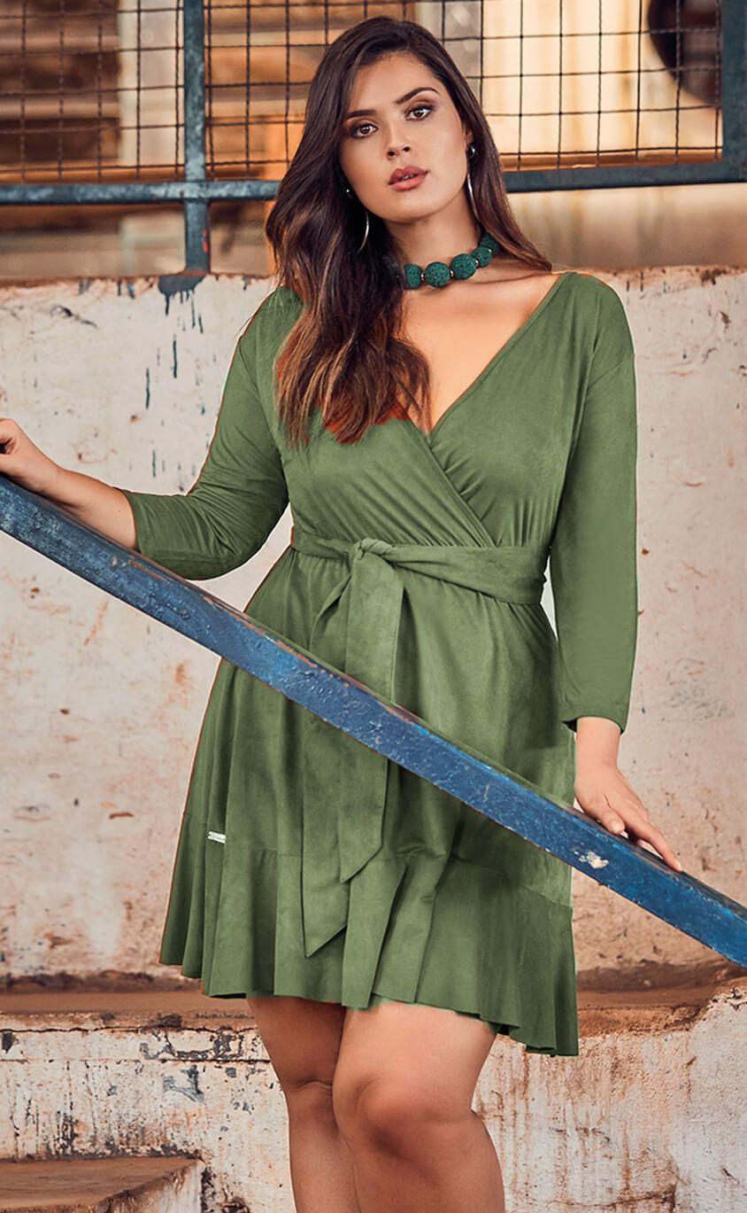 Vestido Plus Size Taille