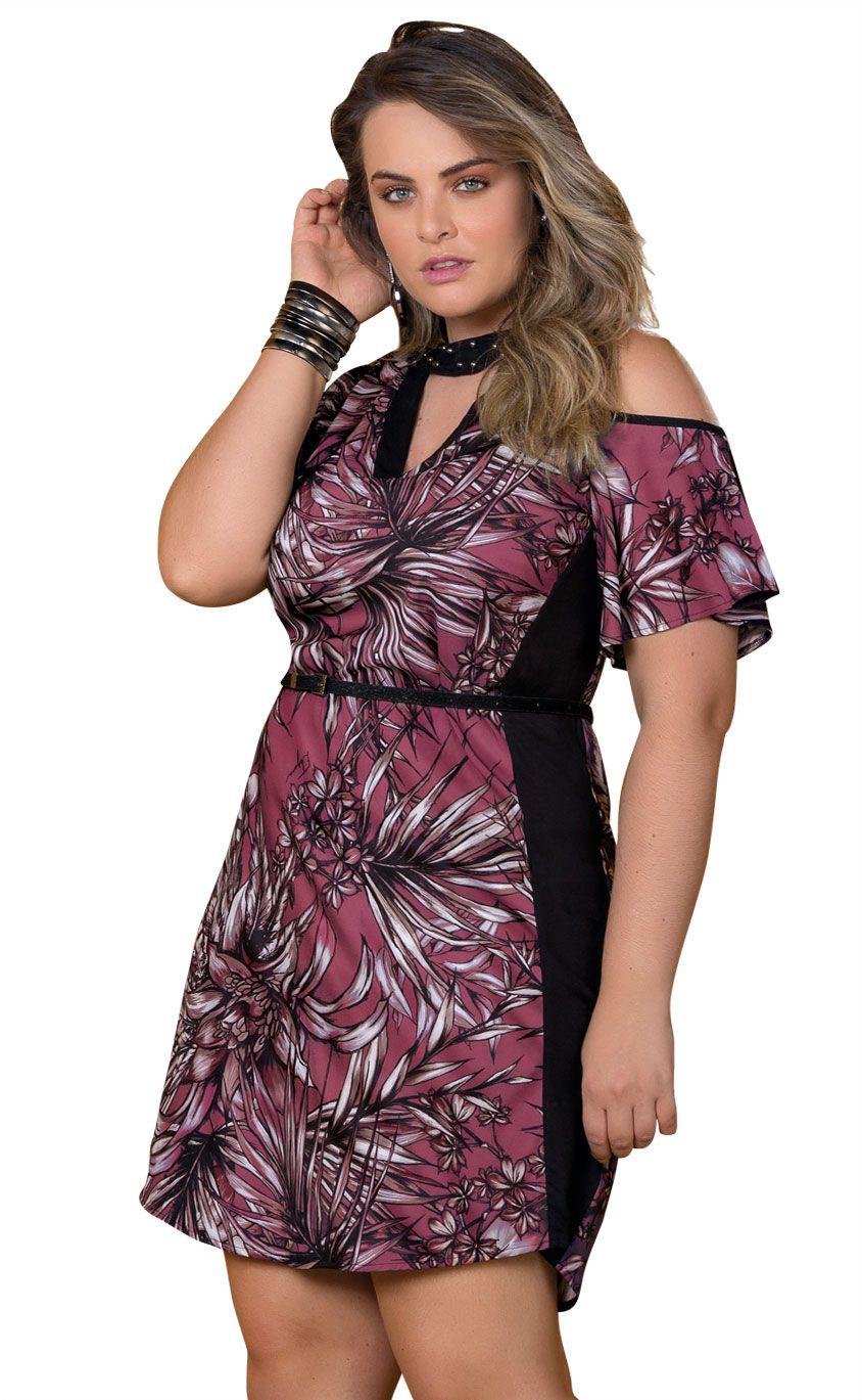 Vestido Plus Size Vino