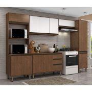 Cozinha Modulada 5 Peças 319 cm Alto Padrão Vicenza  MDP/15mm Dakar - MEGASUL
