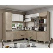 Cozinha Modulada Completa Vicenza 8 Peças  220 X 247,7 Cm MDP/15mm Sonora - MEGASUL