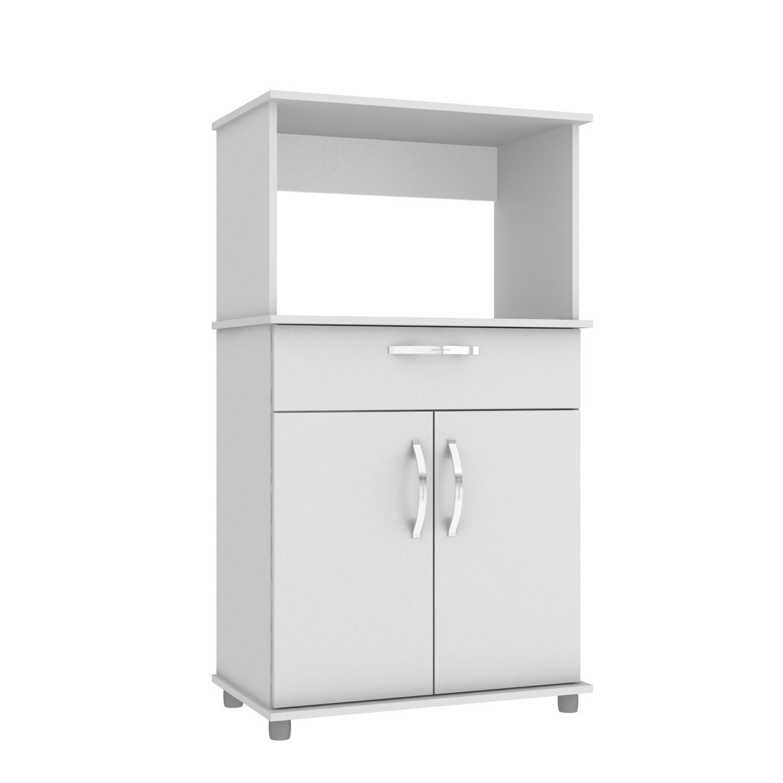 Balcão de Forno/Micro Laura CZ6067BR Branco - IRM