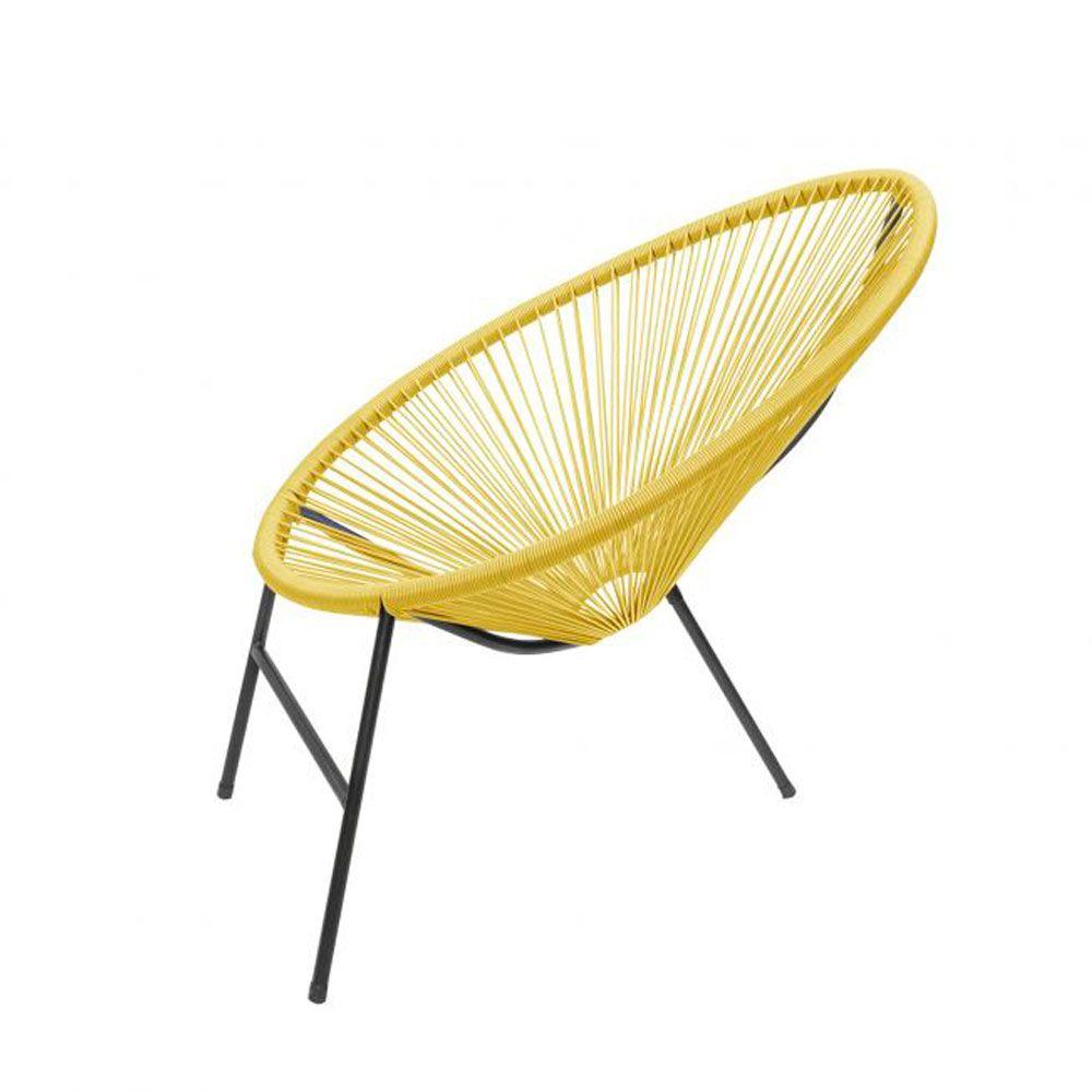Cadeira de Junco Sintético Área Varanda Caribe - MegaSul