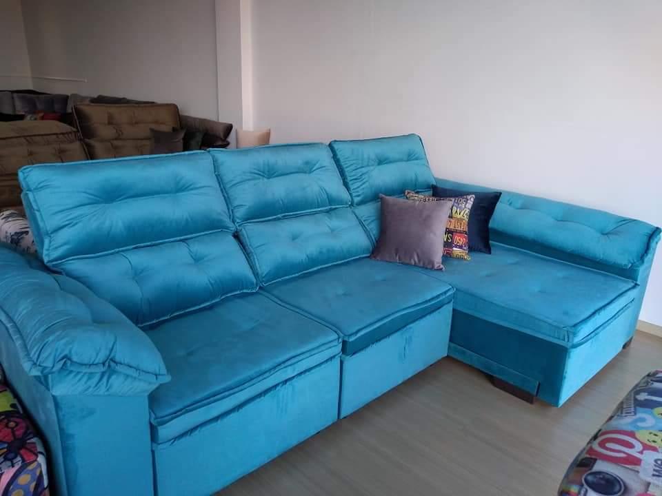 Enjoyable Sofa Retratil De Canto 3 Lugares Furniture Ideas Evergreenethics Interior Chair Design Evergreenethicsorg