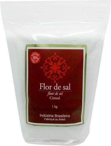Flor De Sal Cimsal - 1kg (100% Natural Integral)