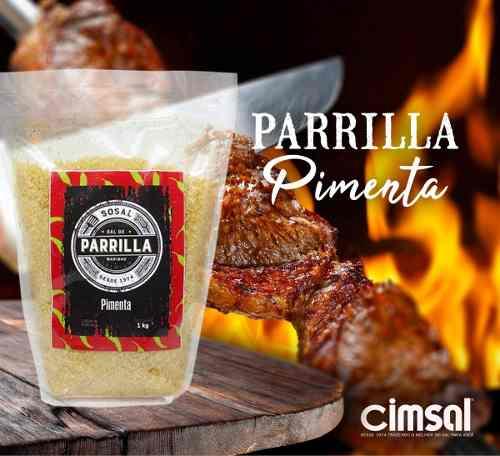Sal De Parrilla Argentino Com Pimenta - 1kg ( 1 Kg)