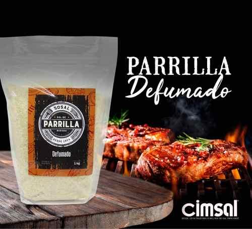 Sal De Parrilla Argentino Defumado - 1kg ( 1 Kg)