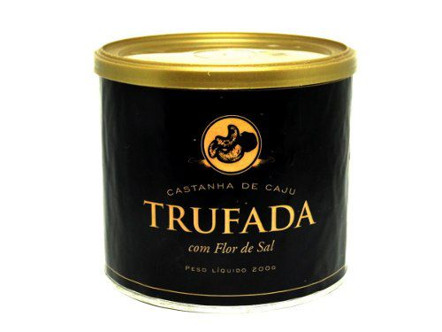 Castanha De Caju Trufada Com Flor De Sal 200g