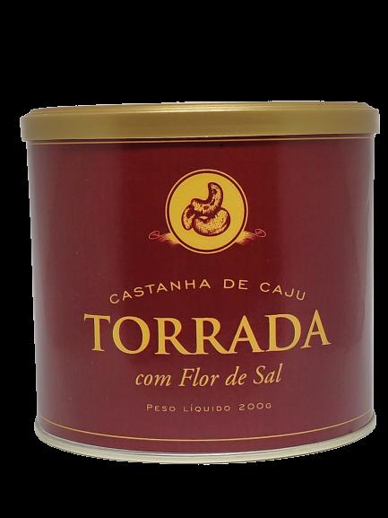 Castanha De Caju Torrada com Flor de Sal - 200g