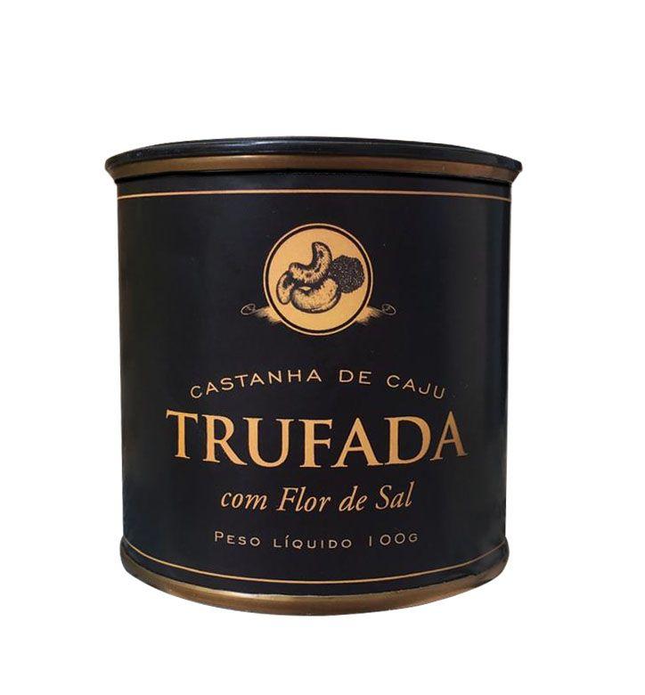 Castanha De Caju Trufada C/ Flor De Sal 100g