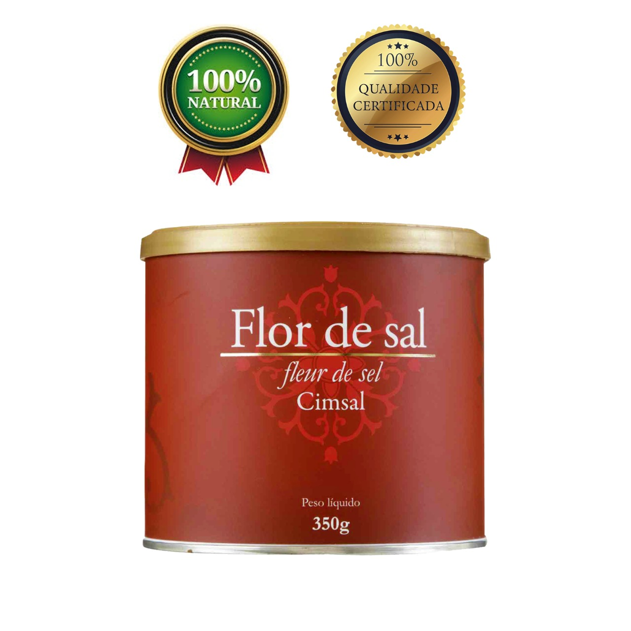 Flor De Sal 350g - Kit com 10 unidades