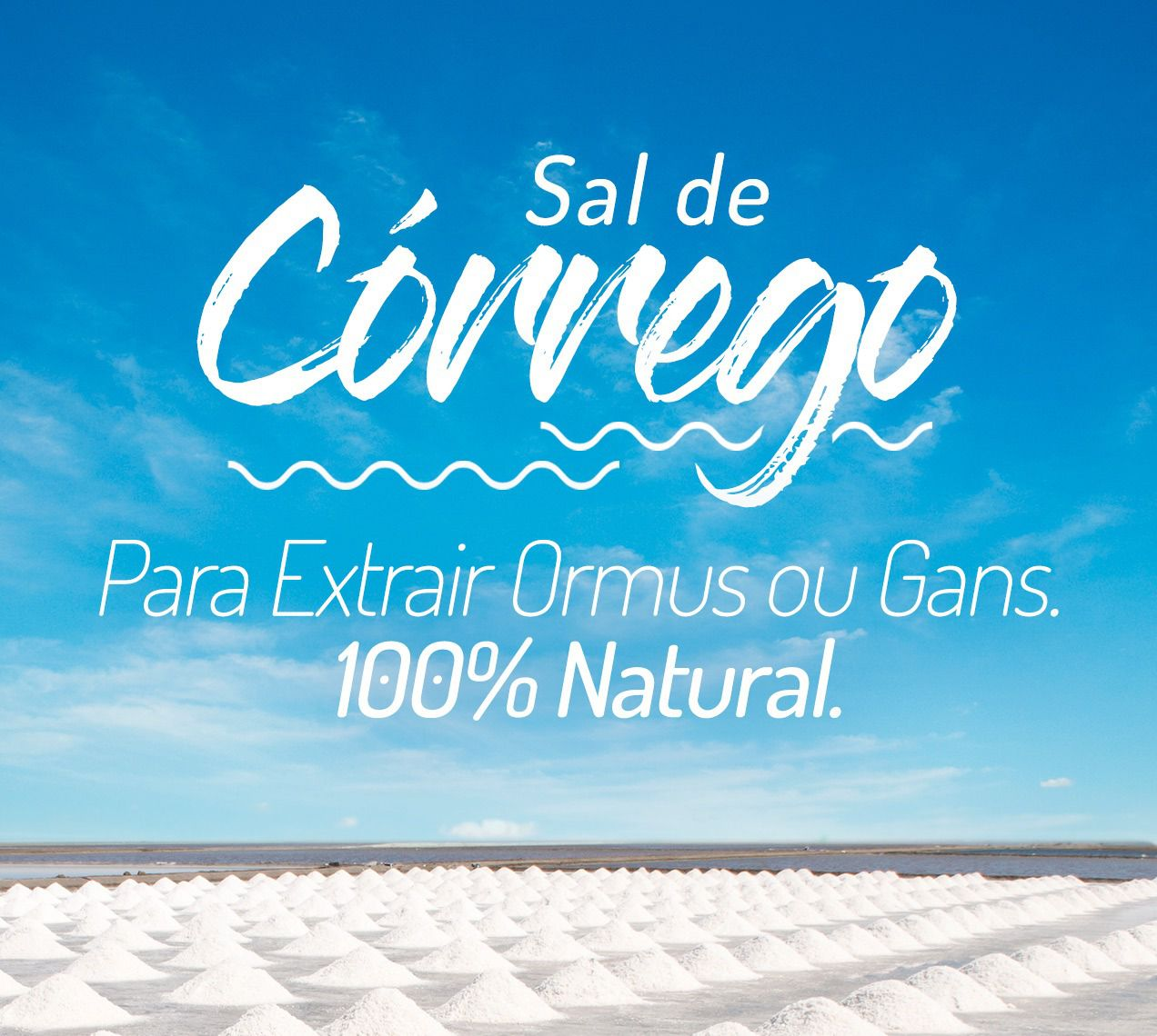 Sal De Córrego - Para Extrair Ormus / Gans -20kg