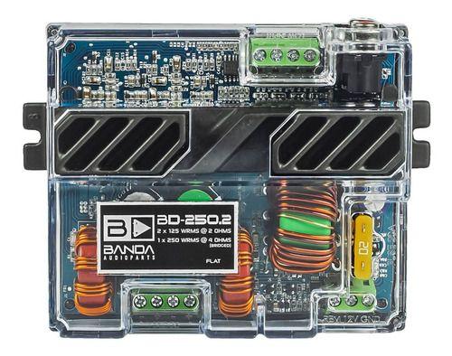 Módulo Amplificador Banda Audioparts Bd 250.2 250w Stereo