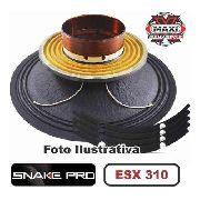 Kit Reparo Snake Pro Esx 310 10 4 Ohms 300w Original 600w