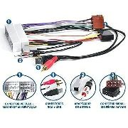 Kit Facil Chicote E Antena Kia Hyundai Fac Hy-002