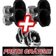 Kit 4 Driver Utx300 + 2 Tweeter Utx400 Ultravox Gratis Bico