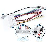 Kit Facil Chicote E Antena Kia Hyundai Fac Hy-001