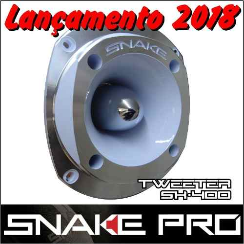 Super Tweeter Profissional Snake Aluminio Sk-400 150 Wrms