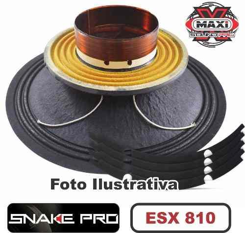 Kit Reparo Snake Pro Esx 810 10 8 Ohms 400w Original 800w