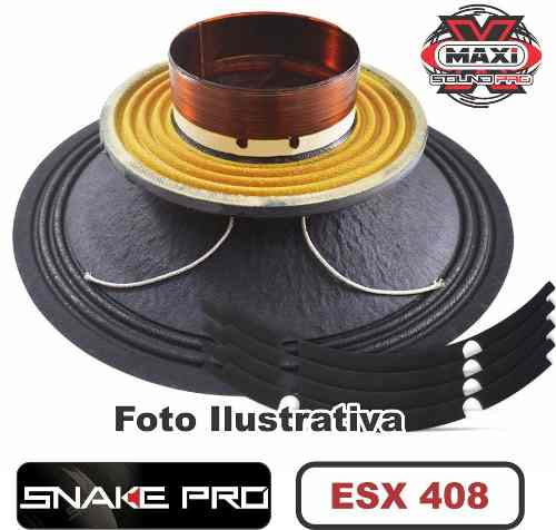 Kit Reparo Snake Pro Esx 408 8 8 Ohms 200w Original 400w