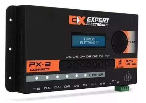 Expert Crossover Processador Digital Px2 Connect Bluetooth