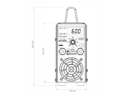 Carregador Inteligente De Baterias Usina Charger 60a 12volts