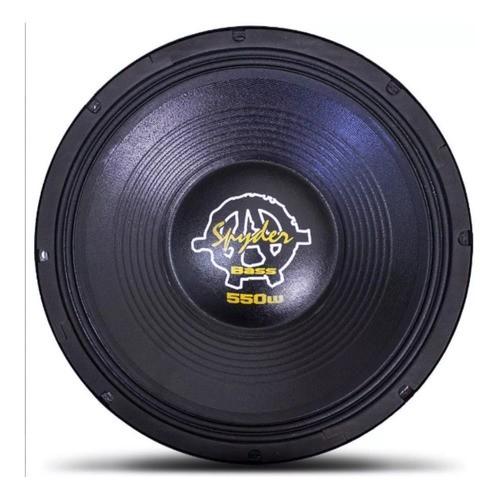 Alto Falante Woofer Spyder Kaos Bass 15 Pol 550 W Rms 4 Ohms