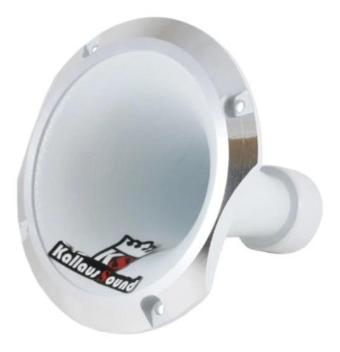Corneta Kallaus Aluminio Hl-1125 Rosca Curta Branca Expansor