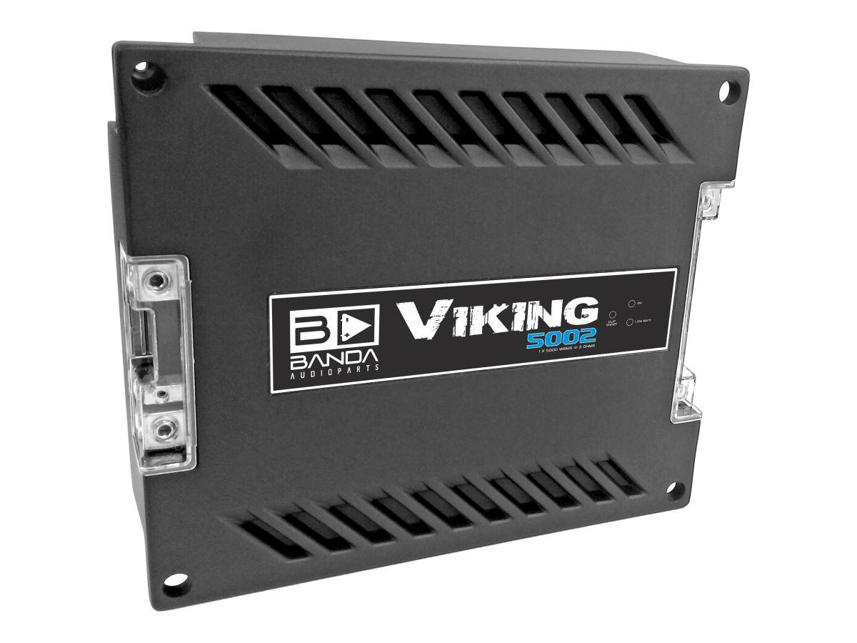 Módulo Amplificador Banda Audioparts Viking 5002 2 Ohm 5000w