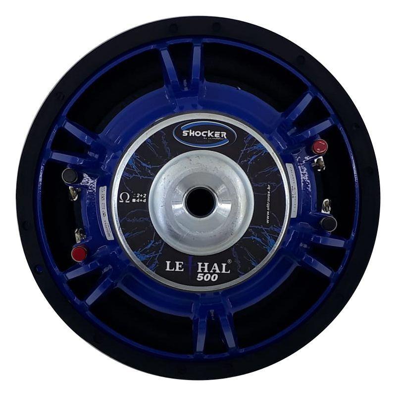 Subwoofer Shocker Lethal 500 Rms 12 Pol 4+4 Ohms Lançamento