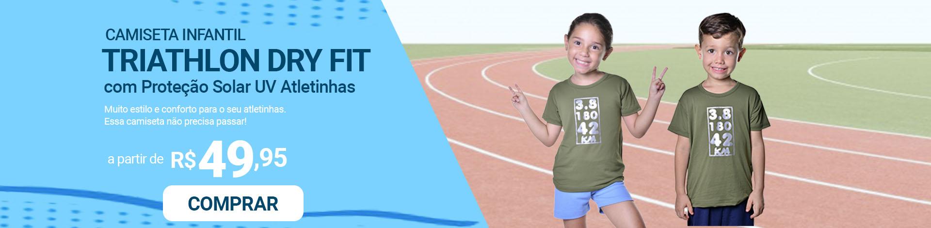 atletinhas - camisetas triathlon