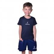 Camisa Infantil Unissex Dry Fit com Proteção Solar UV Atletinhas