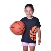 Camisa de Basquete Infantil Unissex Dry Fit com Proteção Solar UV Atletinhas