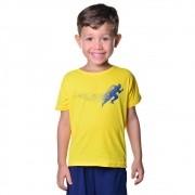 Camisa de Corrida Infantil Unissex Dry Fit com Proteção Solar UV Atletinhas