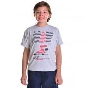 Camisa de Natação Infantil Unissex Triathlon Dry Fit com Proteção Solar UV Atletinhas