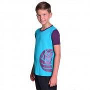 Camisa de Vôlei Infantil Unissex Dry Fit com Proteção Solar UV Atletinhas