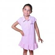 Vestido Polo Infantil Atletinhas