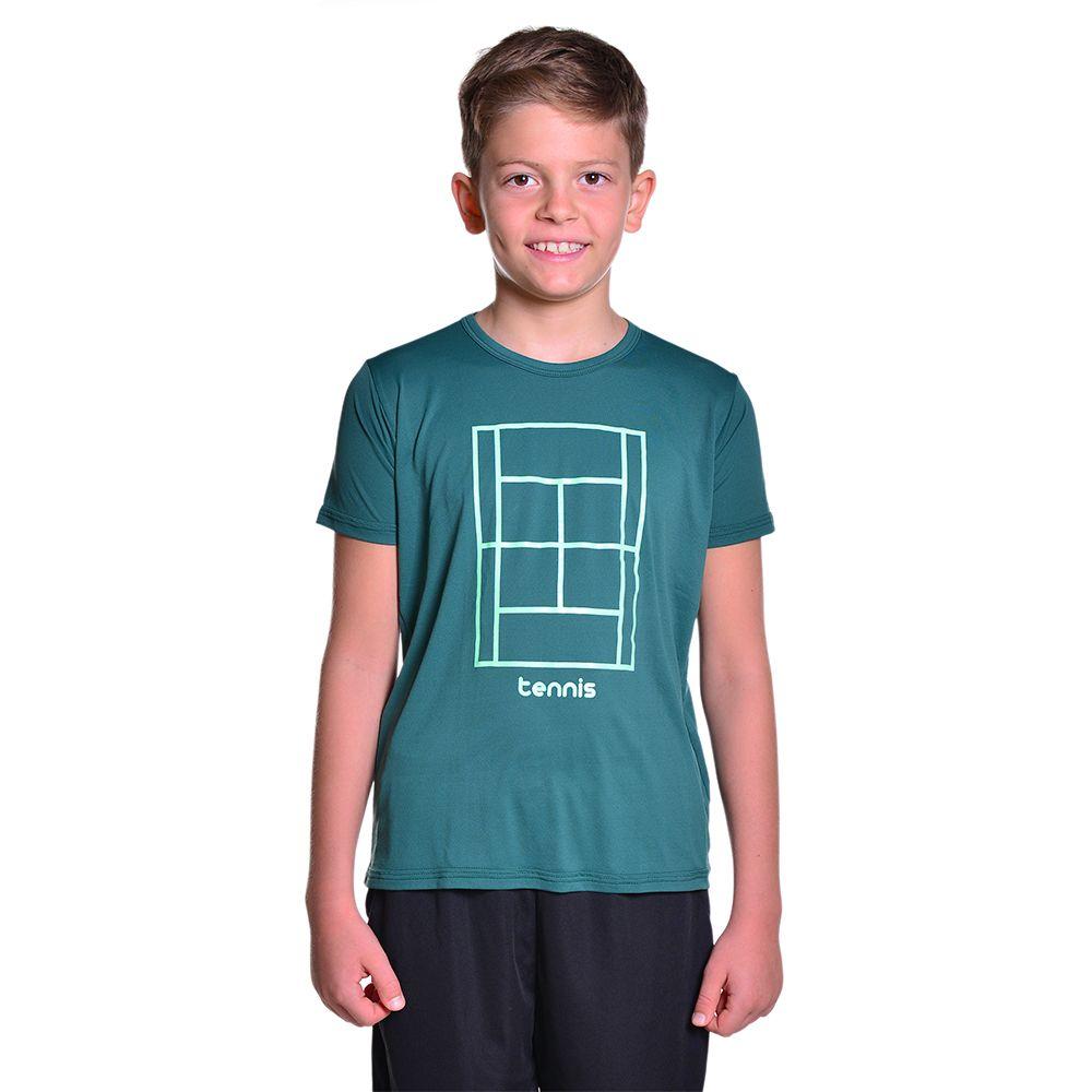 Camiseta de Tenista Unissex Dry Fit com Proteção Solar UV Atletinhas