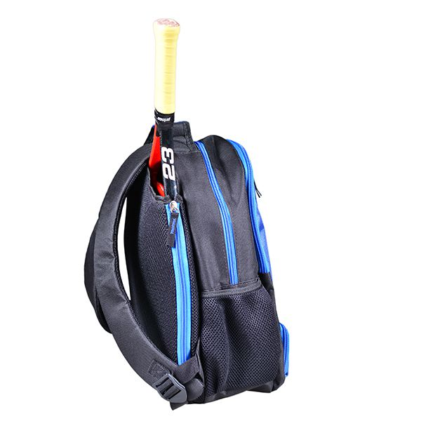 Mochila Infantil para Esportes | Preto com detalhes Azul