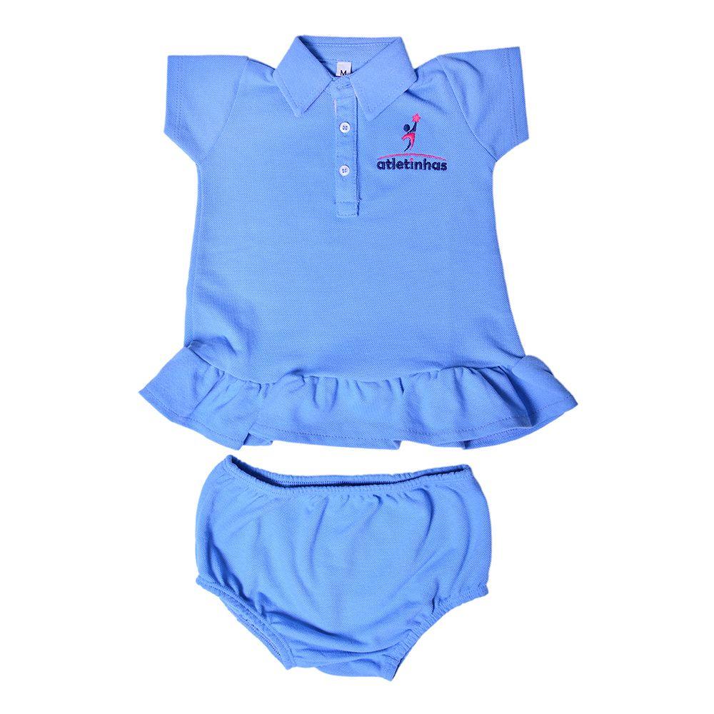 Vestido Polo Bebê Atletinhas