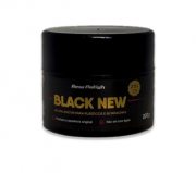 Black New Revitalizador para Plásticos e Borrachas 200g New Polish