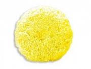 Boina Lã Dupla-face Amarela Super Macia Buff and Shine