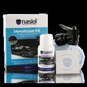MetalCoat F2 Nano Proteção Para Pintura, Plasticos e Lanternas 50ml NASIOL