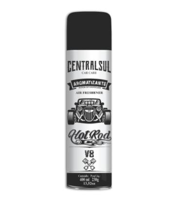 Aromatizante Hot Rod V8 400Ml Centralsul  - Dandi Produtos Automotivos