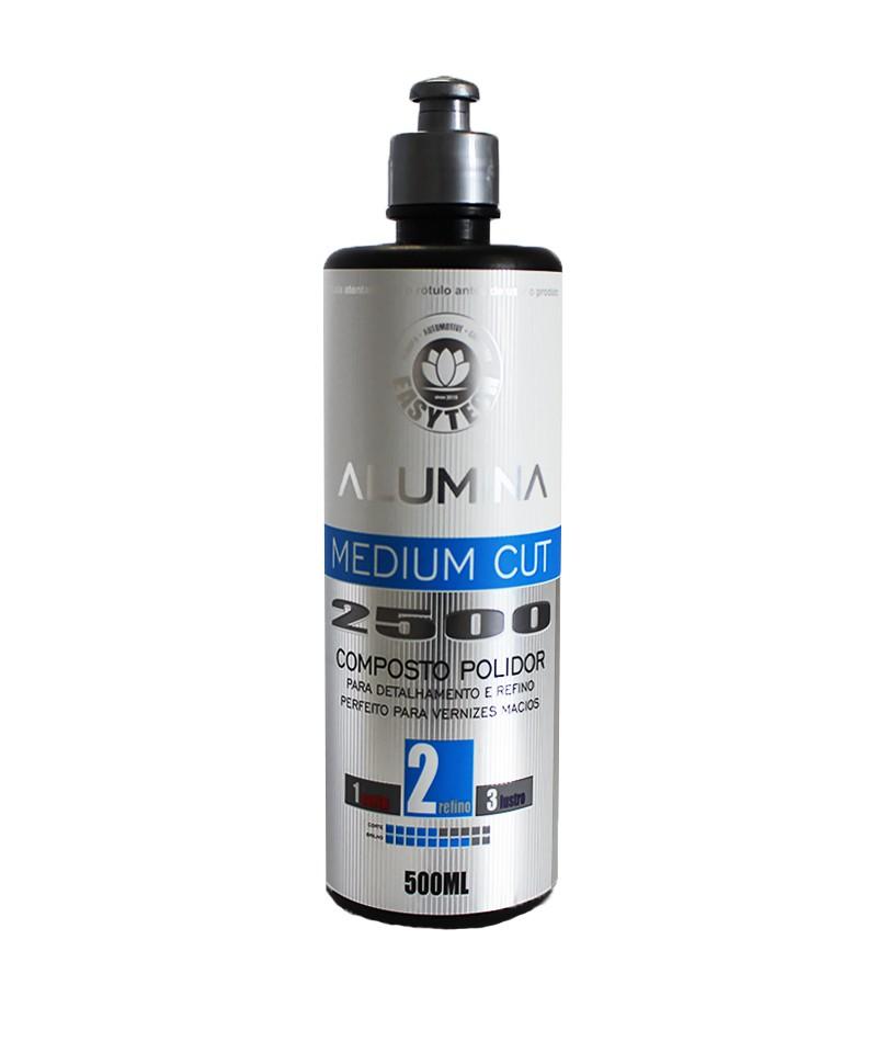 Alumina Medium Cut 2500 - 500Ml Easytech  - Dandi Produtos Automotivos