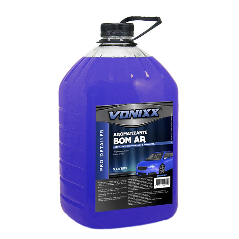 Aromatizante Bom Ar 5L - Vonixx  - Dandi Produtos Automotivos