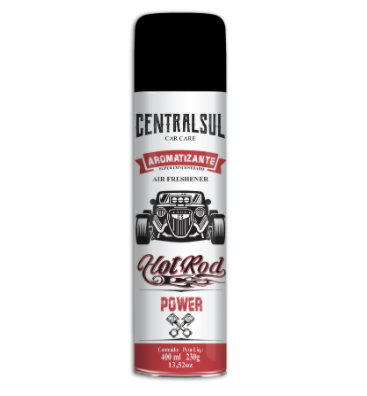 Aromatizante Hot Rod Power 400Ml Centralsul  - Dandi Produtos Automotivos