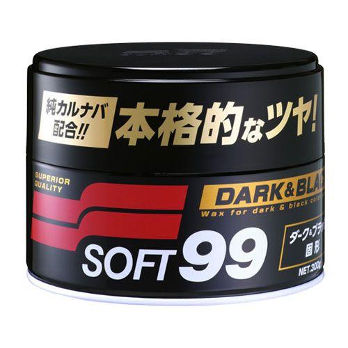 Cera Soft99 Dark & Black  - Dandi Produtos Automotivos