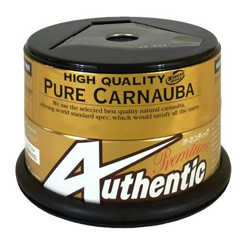 CERA DE CARNAUBA PURA PREMIUM AUTHENTIC 200G - SOFT99  - Dandi Produtos Automotivos