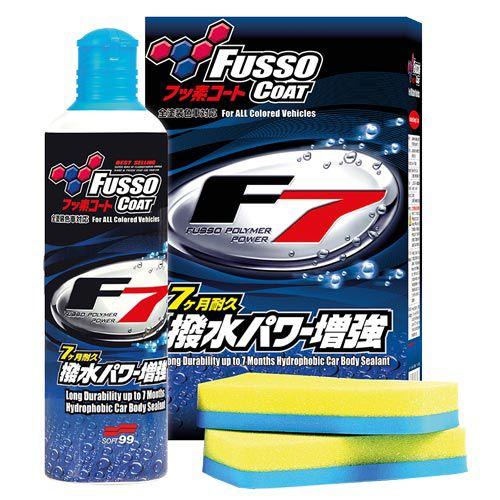 Cera Liquida Fusso F7 Selante 300Ml - Soft99  - Dandi Produtos Automotivos